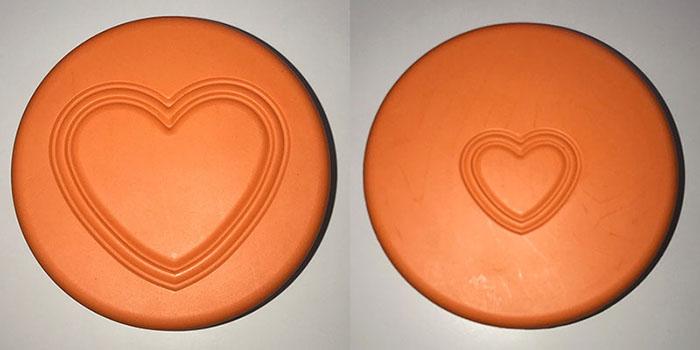 画像左:表面(成人) 画像右:裏面(小児)