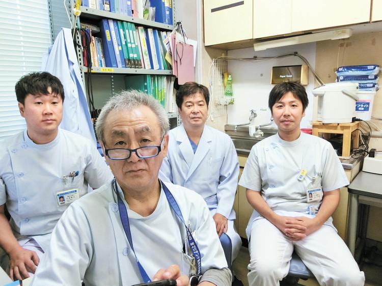 寄稿くださった清水さんとクリニカルエンジニア部 管理者チームの皆さま