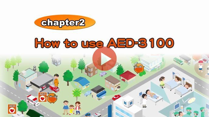 How to use AED-3100